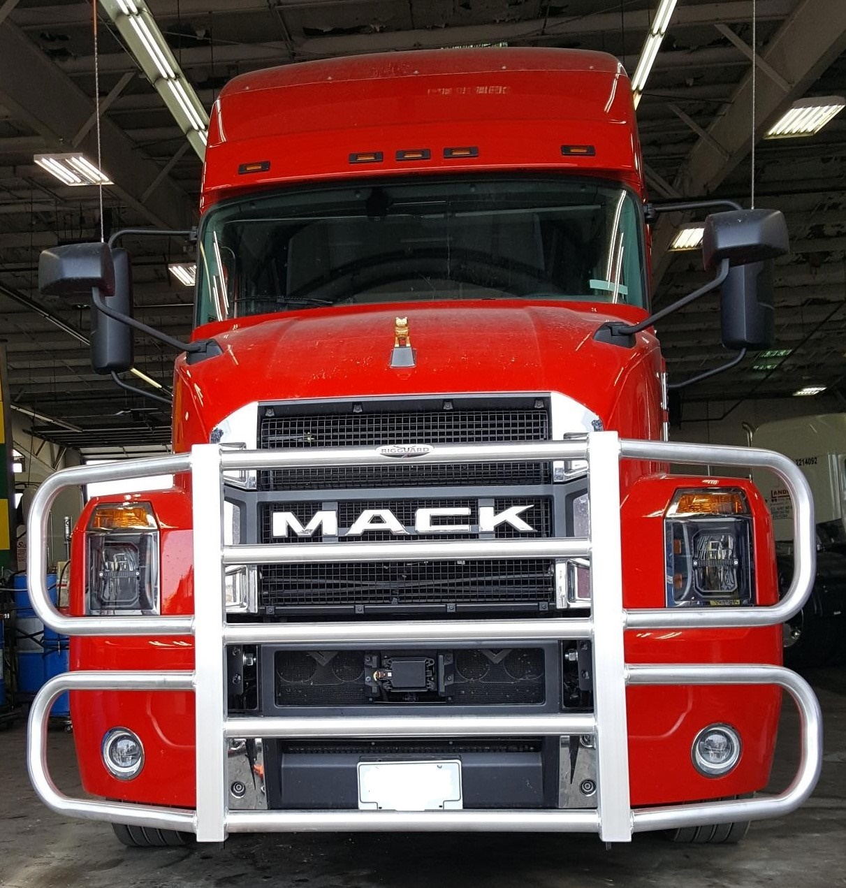 Inked3400 Mack Anthem Plastic Bumper